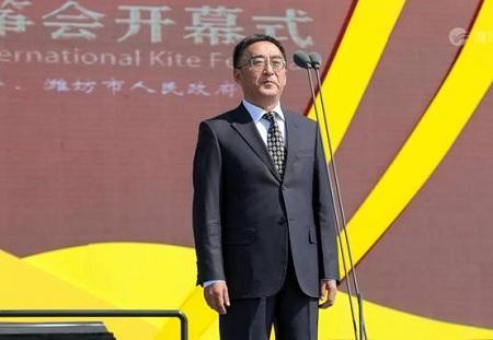 黄金周来临 第37届潍坊国际风筝会盛大开幕