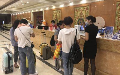 杭州悦博公馆精选酒店接入容易住自助机系统,提高对客服务体验